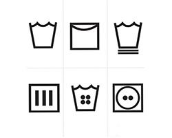 Giải mã các biểu tượng và ký hiệu giặt là trên tem mác quần áo