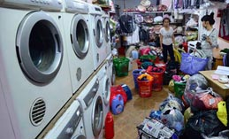 Những nguy hiểm khi chọn cửa hàng giặt là kém uy tín
