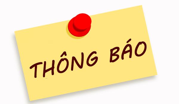 Thông báo đóng cửa hàng tại Trung Yên - Trung Hòa - Cầu Giấy