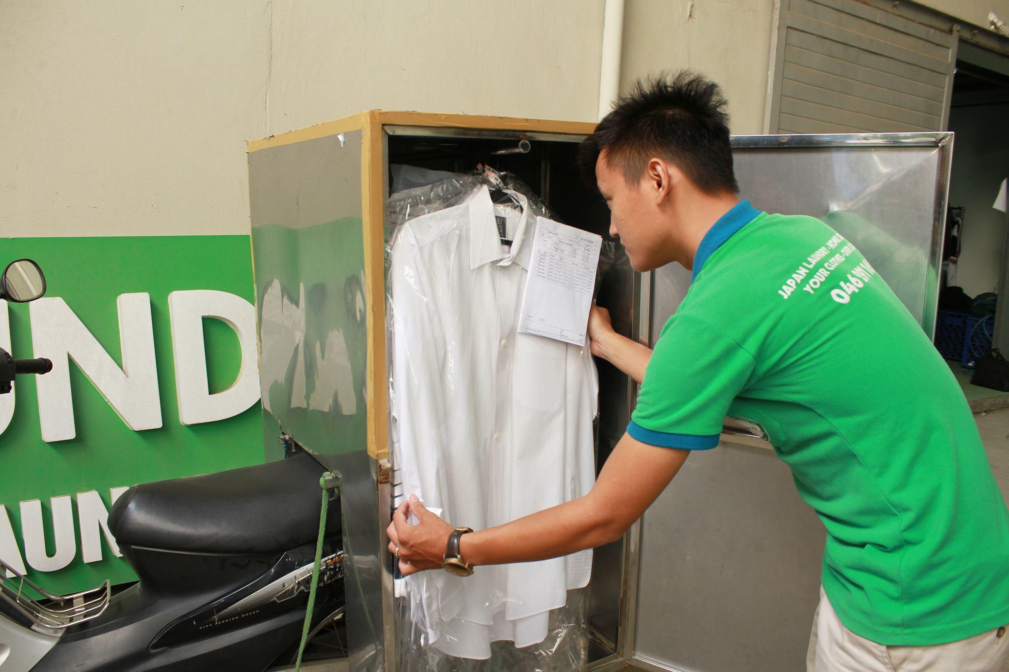 Quy trình giặt đồ giao nhận tại nhà của Japan LaunDry?