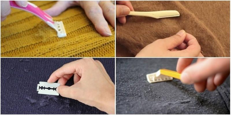 Mẹo hay loại bỏ lông xù trên đồ len? - Giặt là tại Hà Nội / Japan LaunDry