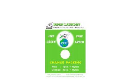 Hạn chế sử dụng túi nilon - Bảo vệ môi trường cùng với Japan LaunDry