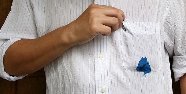 Cách tẩy vết mực, bút bi trên áo trắng/ Giặt là cao cấp Nhật Bản - Japan LaunDry