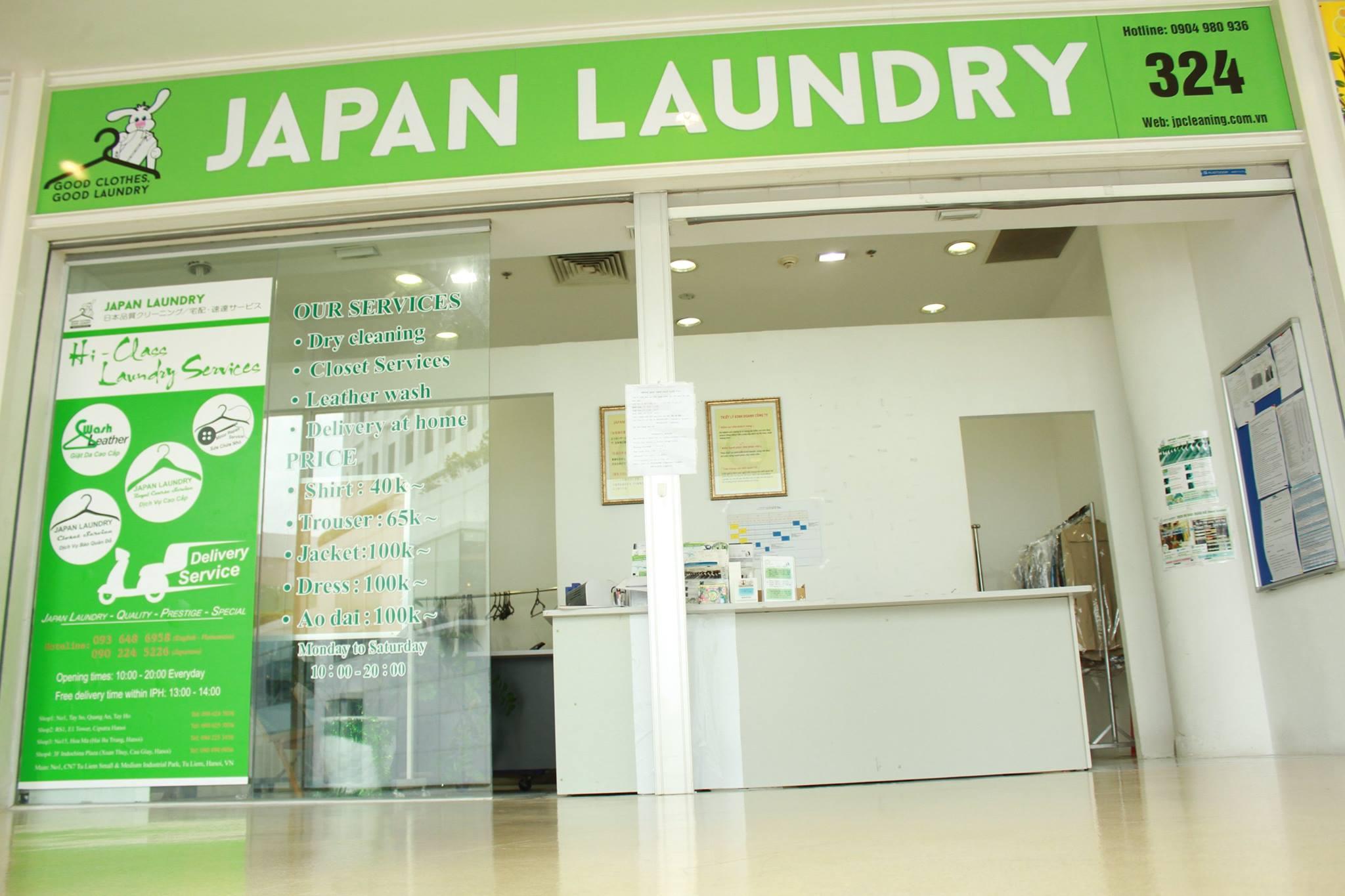 Lựa chọn địa chỉ giặt khô là hơi tại Hà Nội uy tín - Japan LaunDry