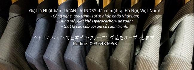 Giặt khô là hơi giá tốt tại Hà Nội | Giặt là Japan Laundry