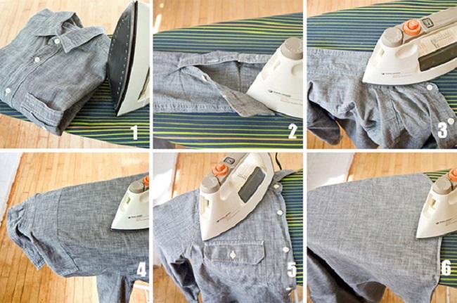 Là ủi quần áo thế nào là đúng?
